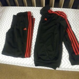 Boys Adidas track outfit